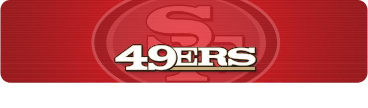 San Francisco 49ers Door Banner
